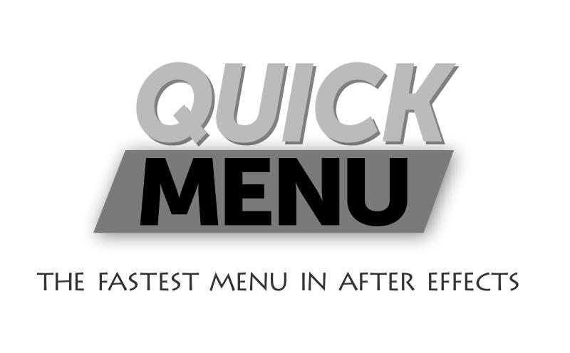 Quick Menu User Guide