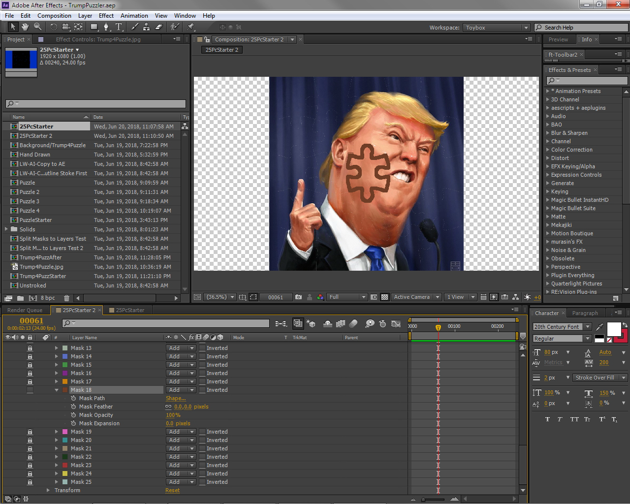 Masks to cropped layers - aescripts + aeplugins