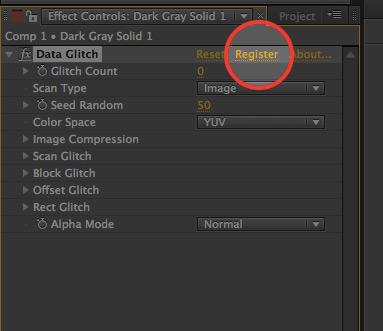 Data Glitch 2 Register