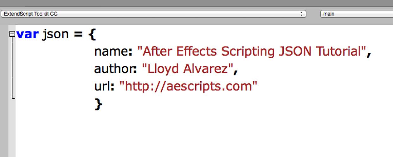 after effects scripting json tutorial aescripts aeplugins aescriptscom