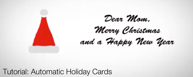 Automatic Holiday Cards