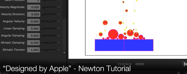 Designed by Apple - Newton Tutorial
