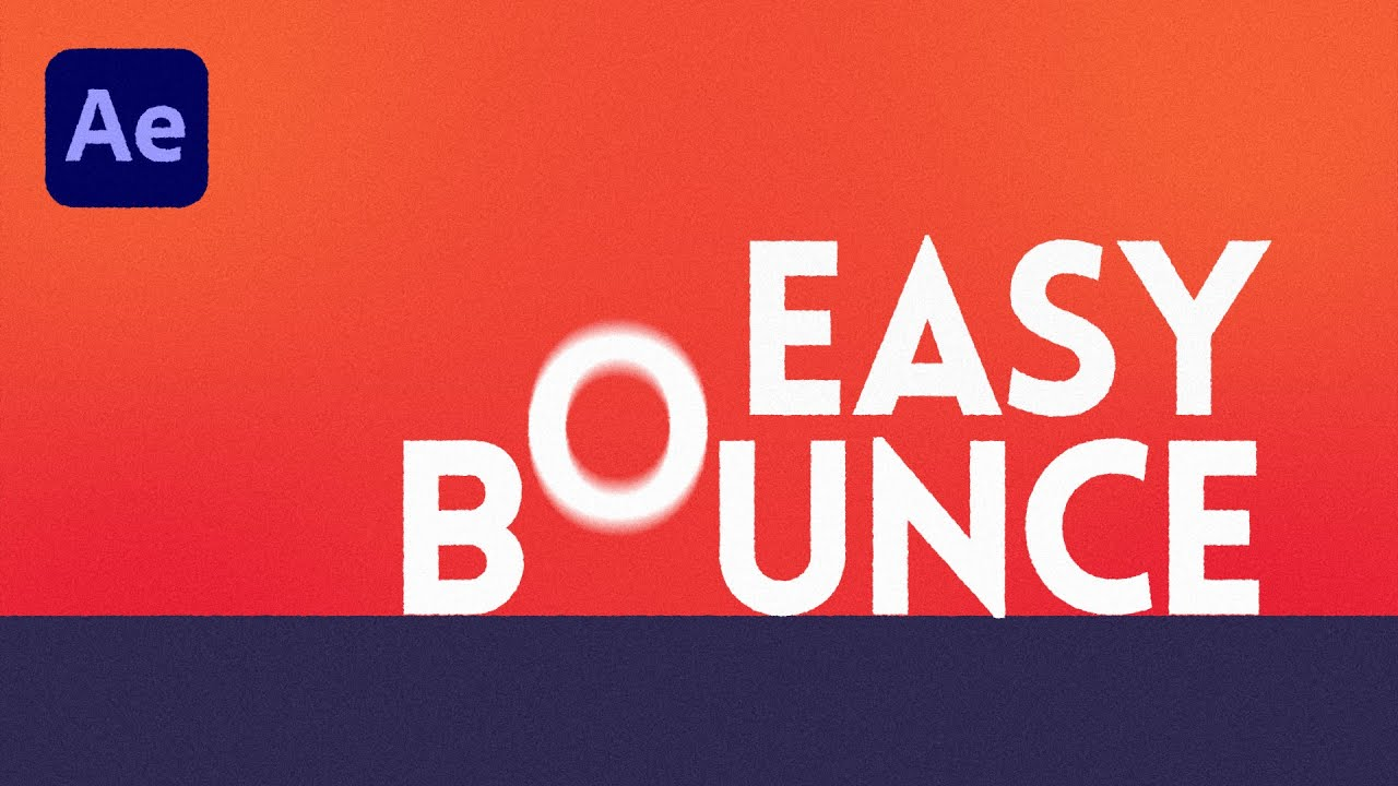 Easy Bounce for After Effects TipTut Overview