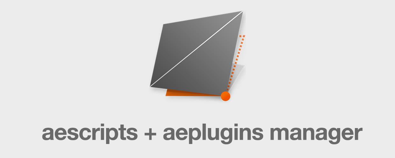 aescripts + aeplugins manager app - aescripts + aeplugins