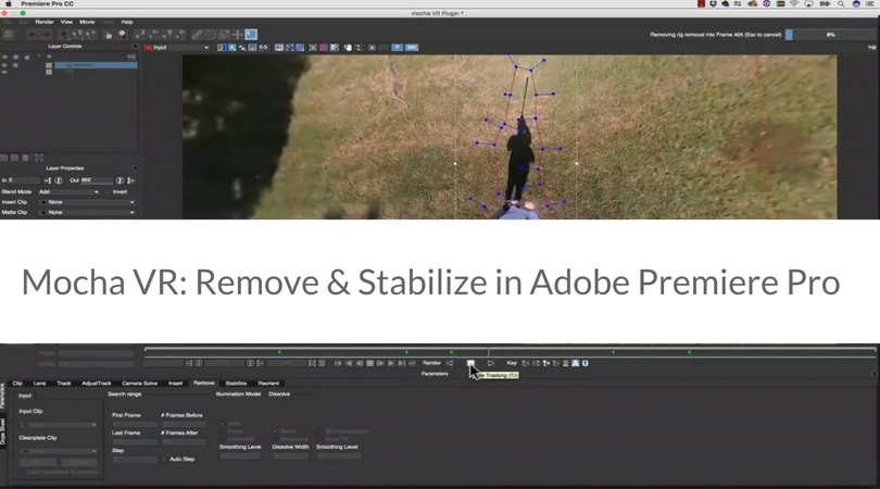 Mocha VR: Remove & Stabilize in Adobe Premiere Pro - aescripts +