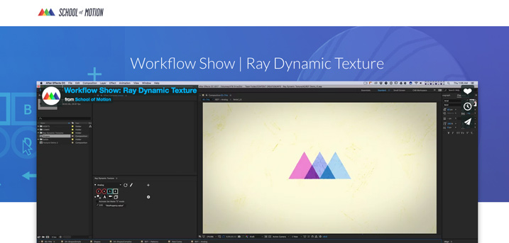 Workflow Show: Ray Dynamic Texture