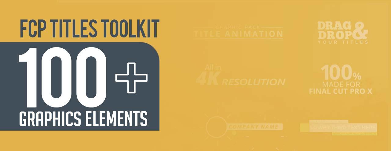 FCP Titles Toolkit - aescripts + aeplugins - aescripts com