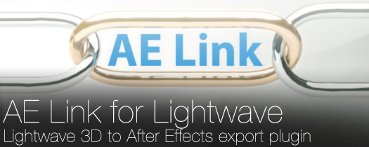 AE Link:Lightwave to After Effects Export