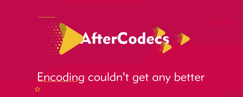 AfterCodecs - aescripts + aeplugins