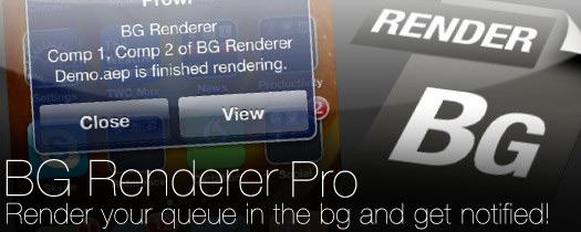 BG Renderer Pro