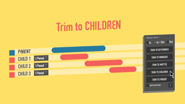 Trim to children