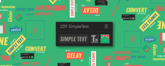 Simple Text for After Effects