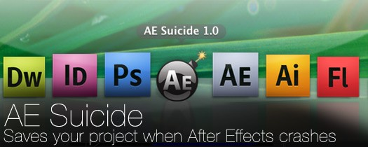 AE Suicide-After Effects Crash Recovery
