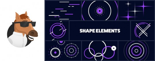 Shape Elements Pack for Animation Composer