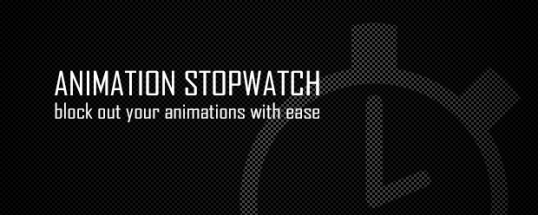 Animation Stopwatch