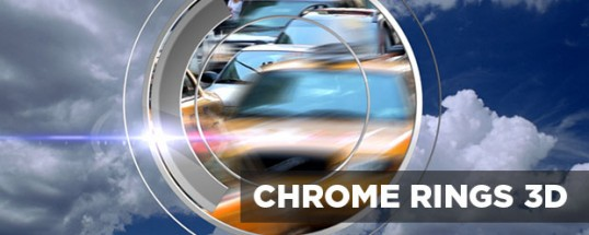 Chrome Rings 3D Transitions for Final Cut Pro X