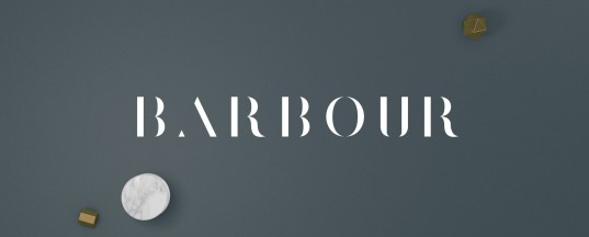 Barbour - Animated Typeface