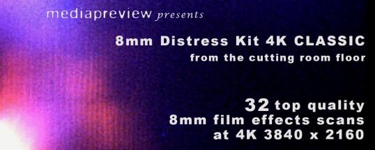 8mm Distress Kit 4K CLASSIC