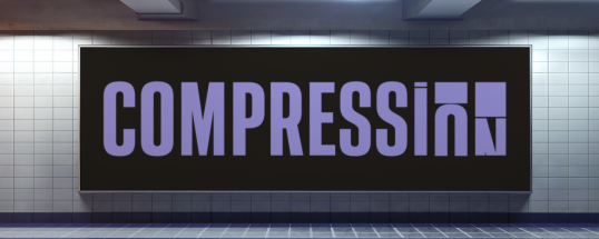 Compression - Animated Typeface