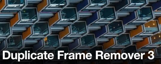 Duplicate Frame Remover 3