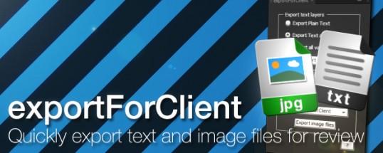 exportForClient
