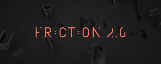 Friction - Animated Typeface