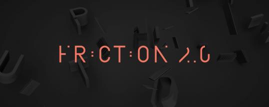 Friction - Animated Typeface