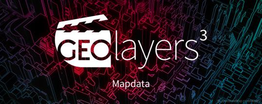 GEOlayers Mapdata Splash