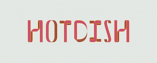 Hotdish - Animated Typeface