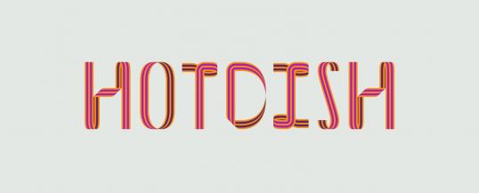 Hotdish - Animated Typeface