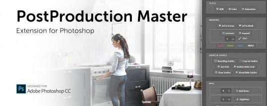 PostProduction Master for Photoshop