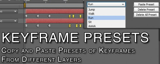 Keyframe Presets Splash Screen