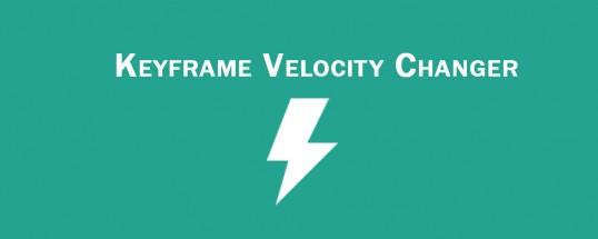 Keyframe Velocity Changer