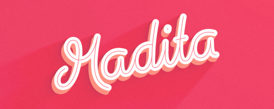 Madita - Animated Typeface