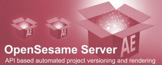 OpenSesame Server