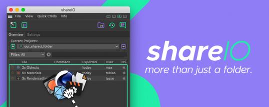 shareIO - more than just a folder.