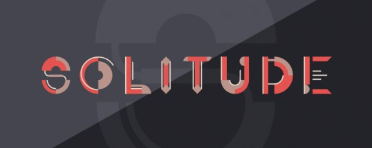 Solitude Animated Typeface