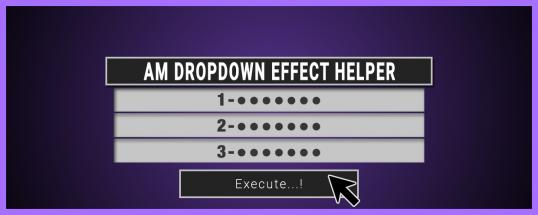 AM Dropdown Effect Helper