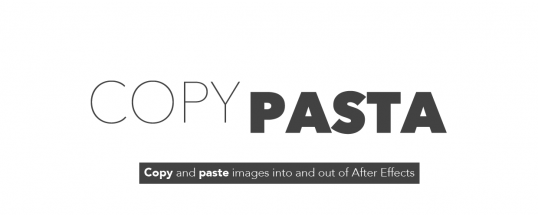 Copy Pasta Splash Image