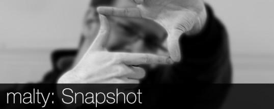 malty: Snapshot (Splash screen)