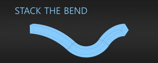 Stack The Bend C4D