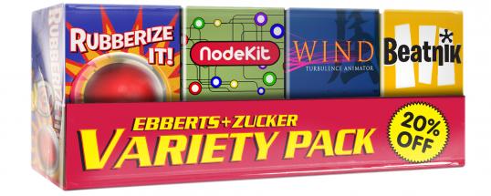 Ebberts + Zucker Variety Pack