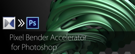 Pixel Bender Accelerator for Photoshop