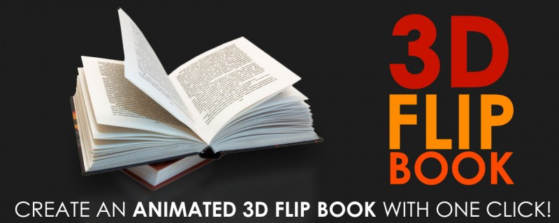 3D Flip Book v1.3 Plugin for After Effects - Free download