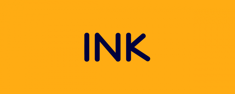 Ink - Animated Typeface