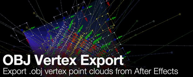 OBJ Vertex Export - aescripts + aeplugins - aescripts com