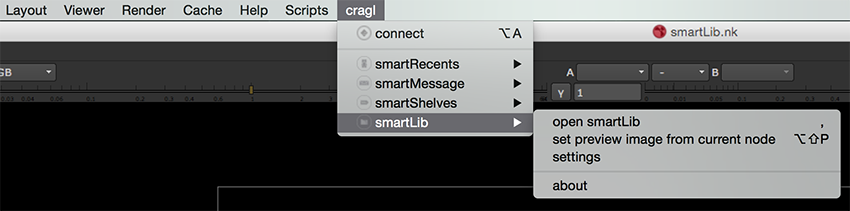 accessing smartLib's features