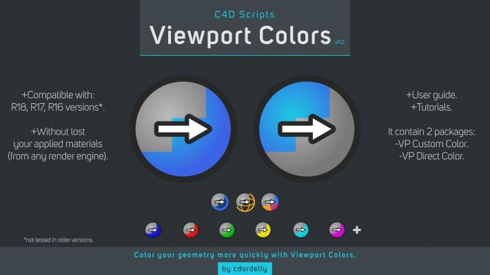 Viewport Colors Features