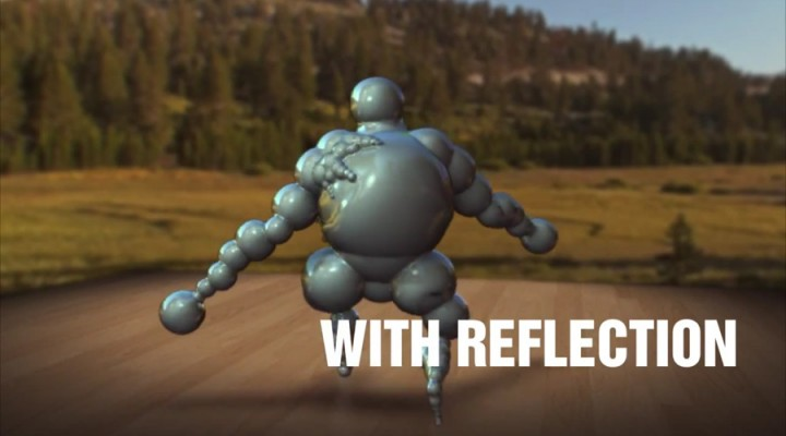 Relit composite in After Effects with Reflections