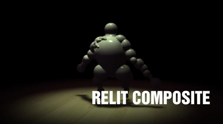 Relit composite in After Effects